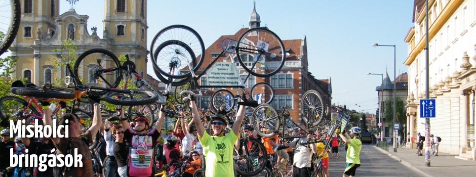 Közösség, miskolci bringás kampányok és rendezvények, minden, amit a miskolci kerékpáros életről tudni akartál