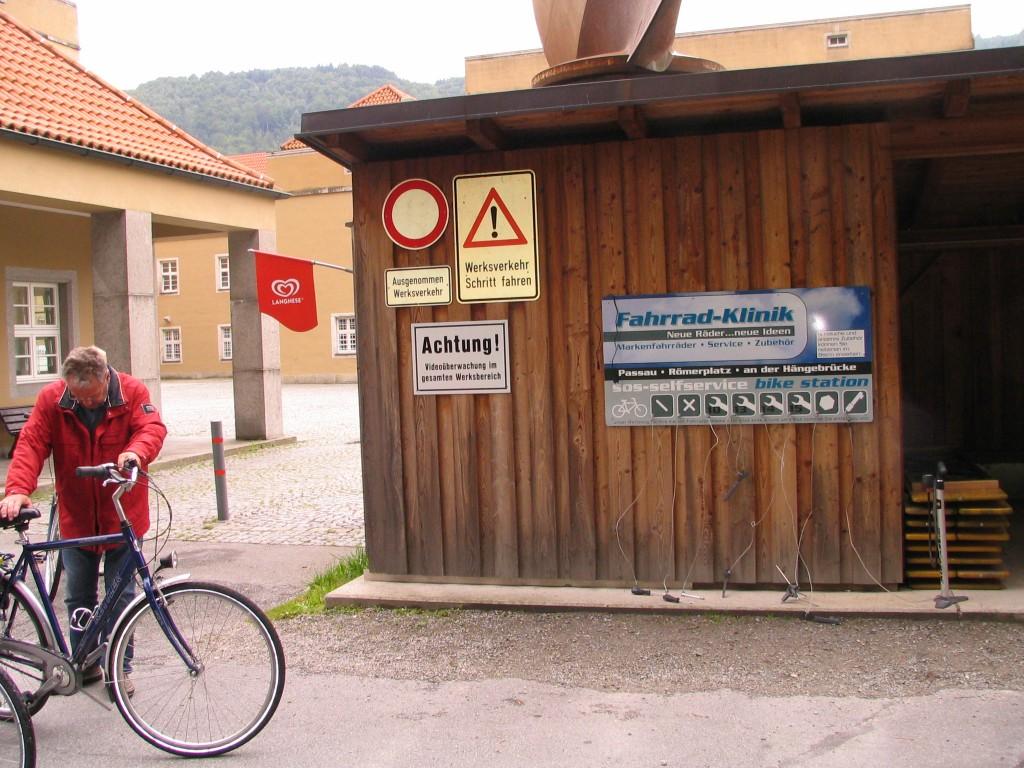 Szerszámhasználati lehetőség Passauban
