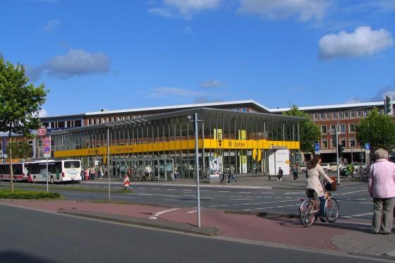 Münster kerékpárállomása 2009-ben, tízévesen